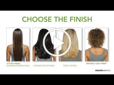 Keratin Complex® Personalized Blow Out™ Step-by-step